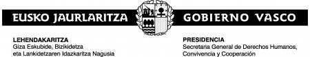 Gobierno Vasco / Eusko Jaurlaritza (Lehendakaritza, Presidencia)