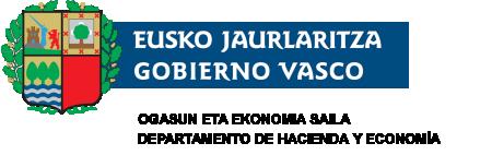 Ogasun eta Ekonomia Saila. Eusko Jaurlaritza / Gobierno Vasco
