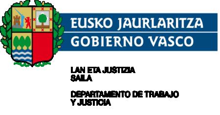 Eusko Jaurlaritza Gobierno Vasco-Lan eta Justizia saila  Departamento de Trabajo y Justicia