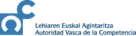 AUTORIDAD VASCA DE LA COMPETENCIA/ LEHIAREN EUSKAL AGINTARITZA