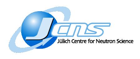 Jülich Centre for Neutron Scattering (JCNS), Jülich