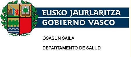 Departamento de salud. Gobierno Vasco