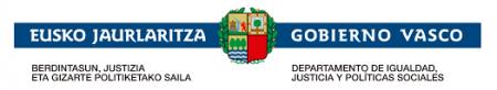 Departamento Igualdad, Justicia y Políticas Sociales. Eusko Jaurlaritza - Gobierno Vasco