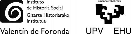 Instituto Universitario de Historia Social Valentín de Foronda, UPV/EHU  a través de los grupos GIU18/107 e IT-1227-19, y del proyecto HAR2017-83955-P.