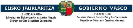 Secretaría General de Paz y Convivencia del Gobierno Vasco
