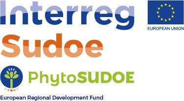 El proyecto PhytoSUDOE (SOE1/P5/E0189) está financiado por el Fondo Europeo de Desarrollo Regional (Comisión Europea) a través del V Programa Interreg Sudoe.