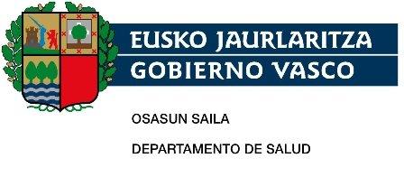 Eusko Jaurlaritza. Osasun Saila / Gobierno Vasco. Departamento de Salud